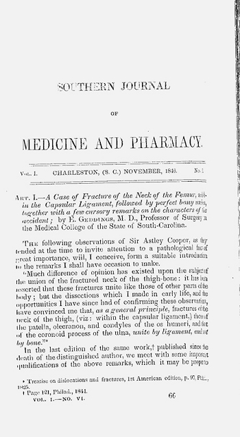 Southern Journal of Medicine and Pharmacy