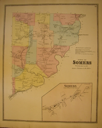 Town of Somers, 1868